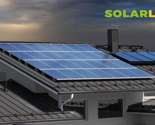 pannello solare senza sole