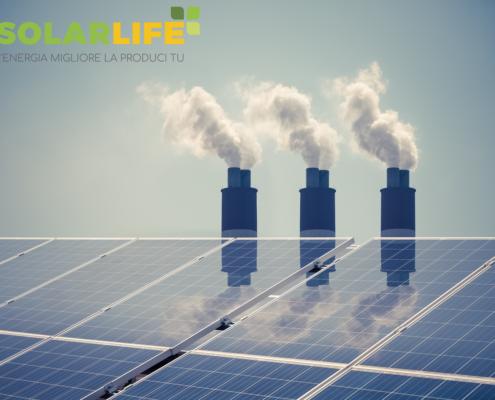 impianto fotovoltaico ed inquinamento